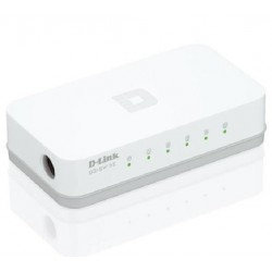 SWITCH RETE 5 PORTE 10/100 GO-SW-5E/E